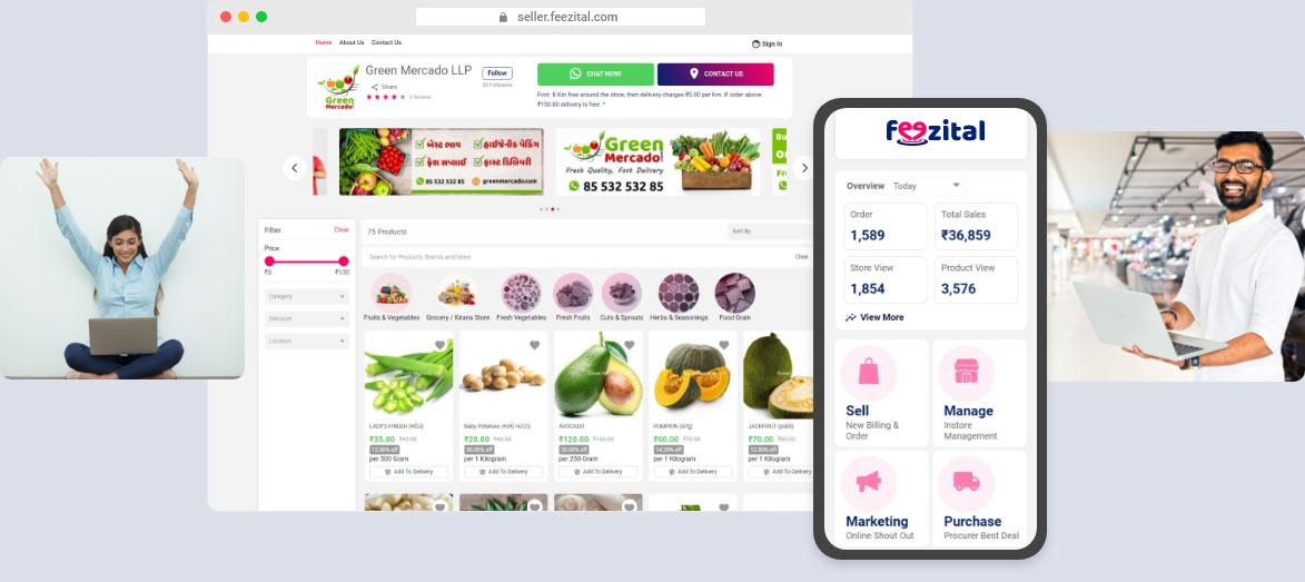 Feezital® Easy Simple Interface