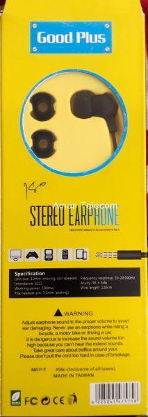 Good Plus Stereo Headphone
