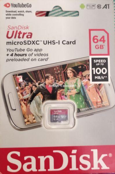 Micro sd 64GB Memory Card