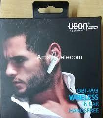 GBT-993 Wireless   In Ear Handsfree Bluetooth  Black