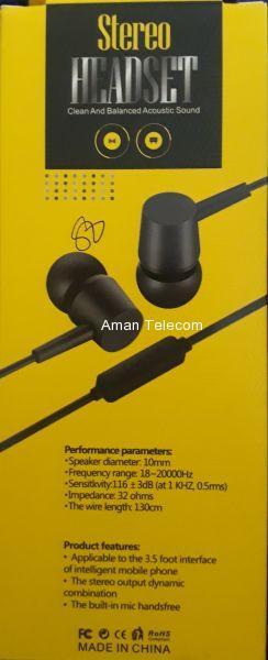 Stereo Headset Q1 Hi-Fi Audio