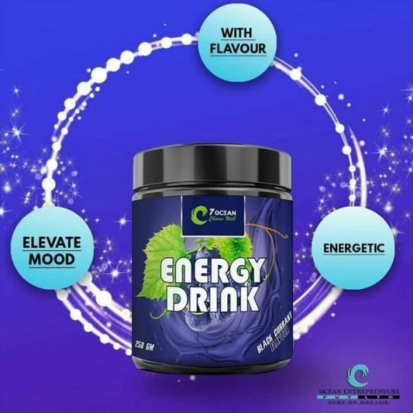 Energy Drink (With Caffeine) (Black Current) (250gm)