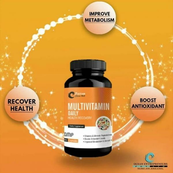 Multi Vitamin Daily (Health Recovery) (60 Tablets)