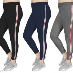 Women's Slim Fit Jeggings Pack Of 3(Size:-26 to 36) Color 1