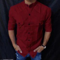 Majestic Cotton Shirt For Men