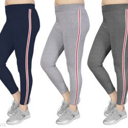 Women's Slim Fit Jeggings Pack Of 3(Size:-26 to 36) Color 4