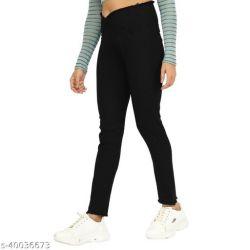 Stylish Fabulous Women Jeans Black