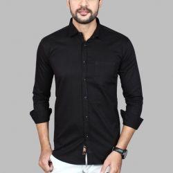 Men's Premium Cotton Casual Full Sleeve Shirt