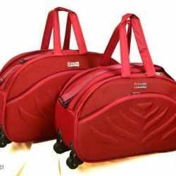Gorgeous Alluring Travel Duffle Bags Combo (RED)