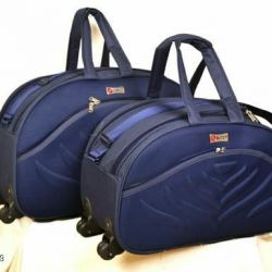 Gorgeous Alluring Travel Duffle Bags Combo (BLUE)