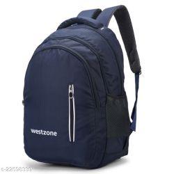 Trendy Men's Blue Backpacks