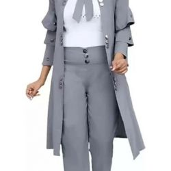 Pretty Retro Women Dresses Gray
