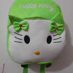 Latest Kids Bags & Backpacks (White & Green)