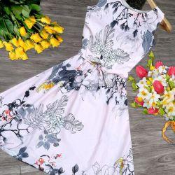 Trendy Retro Women Dresses White