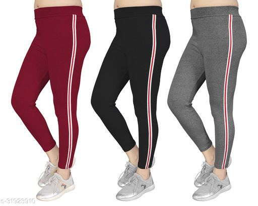 Women's Slim Fit Jeggings Pack Of 3(Size:-26 to 36) Color 5