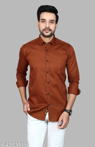 Men's Premium Cotton Casual Full Sleeve Shirt Color 2