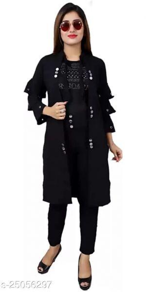 Fancy Sensational Women Dresses Black