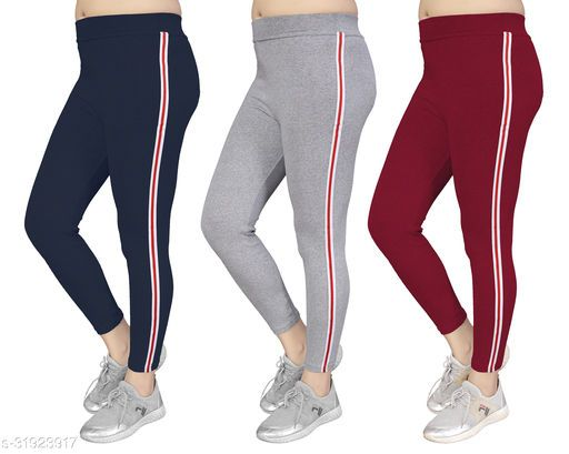 Women's Slim Fit Jeggings Pack Of 3(Size:-26 to 36) Color 6