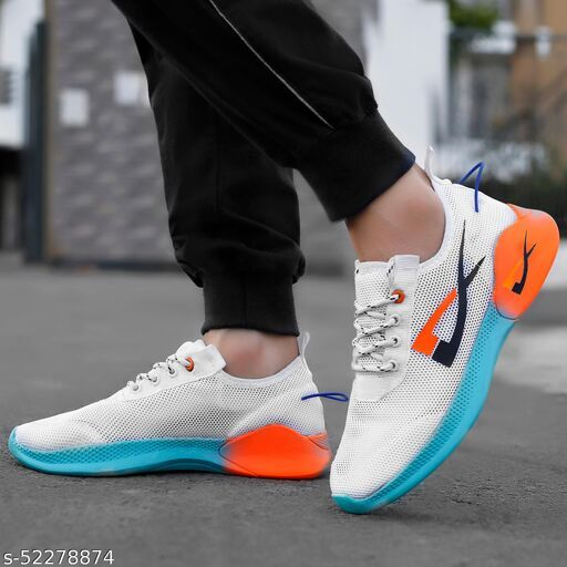 Relaxed Attractive Men Sports Shoes