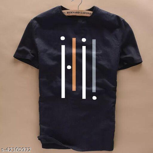 Urban Cotton T Shirt For Man Black