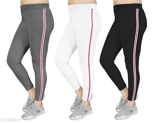 Women's Slim Fit Jeggings Pack Of 3(Size:-26 to 36) Color 3