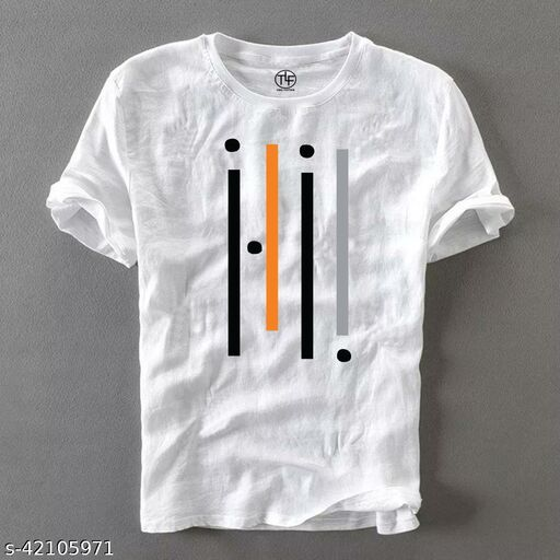 Urban Cotton T Shirt For Man White