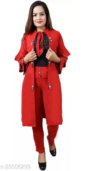 Pretty Modern Women Dresses Red