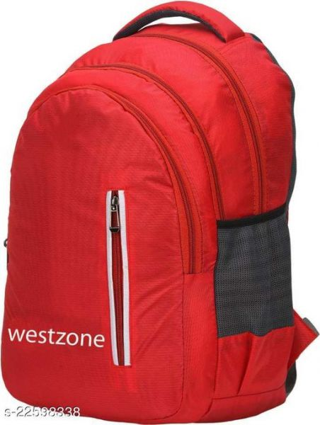 Attractive Men Backpacks Red