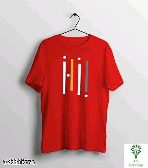Urban Cotton T Shirt For Man Red
