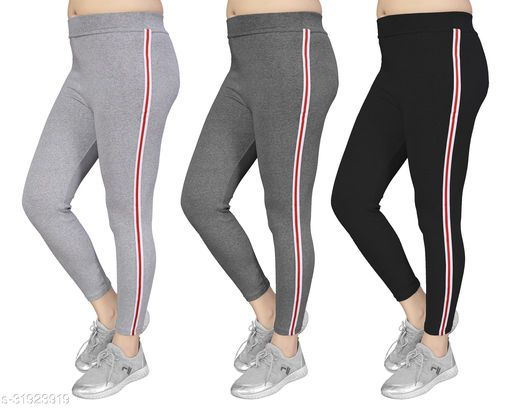 Women's Slim Fit Jeggings Pack Of 3(Size:-26 to 36) Color 2