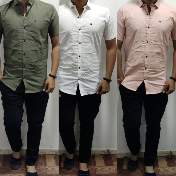 Imported half sleeve shirt.. & imported cotton trouser
