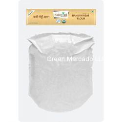 ઓર્ગનિક બંસી ઘઉં નો લોટ-1 KG (SAJEEVAN)