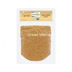 ઓર્ગેનિક મગ મોગર-500 GMS (GREEN GRAM LENTIL)(MUNG MOGAR)(SAJEEVAN)
