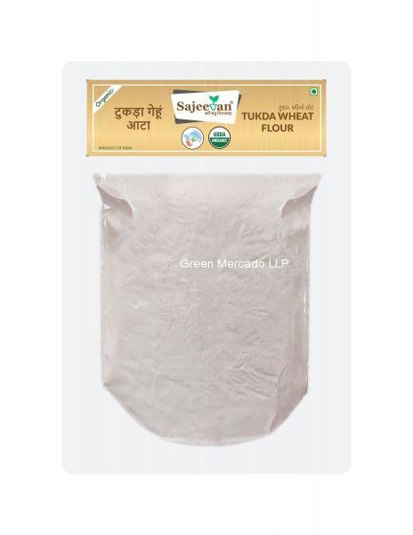 ઓર્ગનિક ટુકડા ઘઉં નો લોટ-500 GMS (SAJEEVAN)