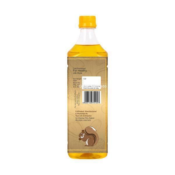 ઓર્ગેનિક મગફળીનું તેલ (GROUNDNUT OIL) - 1 LTR (SAJEEVAN)