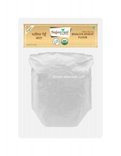ઓર્ગનિક ભાલીયા ઘઉં નો લોટ-500 GMS (SAJEEVAN)