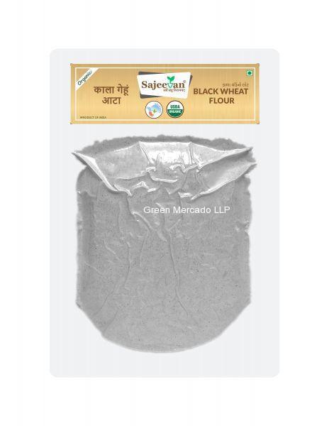 ઓર્ગનિક કાલા ઘઉં નો લોટ-500 GMS (SAJEEVAN)