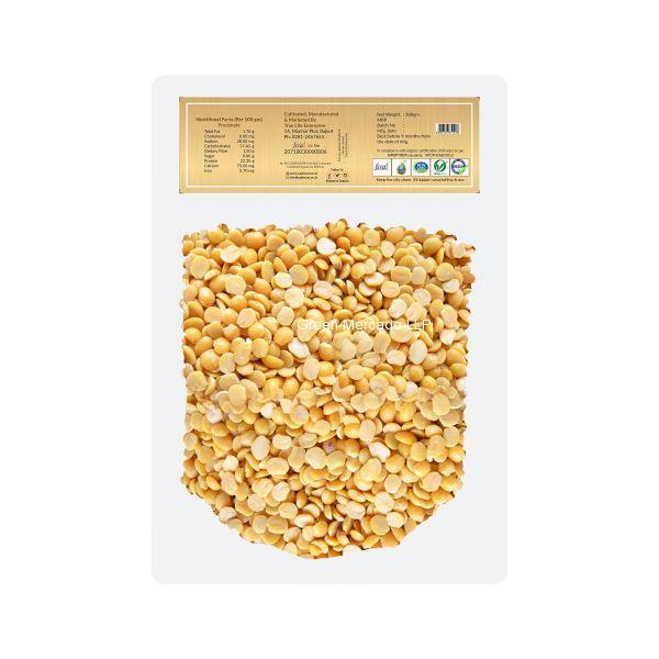 ઓર્ગનિક તુવેર દાળ (તેલ વગર) (TOOR DAL) - 500 GMS (SAJEEVAN)