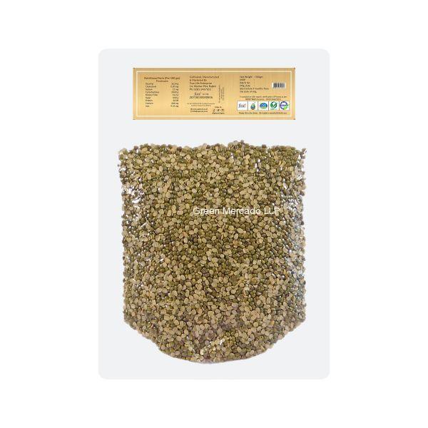ઓર્ગેનિક મગ દાળ -500 GMS (GREEN GRAM SPILIT) (MUNG DAL) (SAJEEVAN)