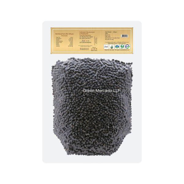 ઓર્ગેનિક અડદ (WHOLE BLACK GRAM) -500 GM (SAJEEVAN)