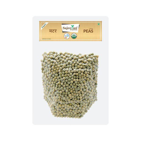 ઓર્ગેનિક વટાણા (PEAS) - 500 GM (SAJEEVAN)