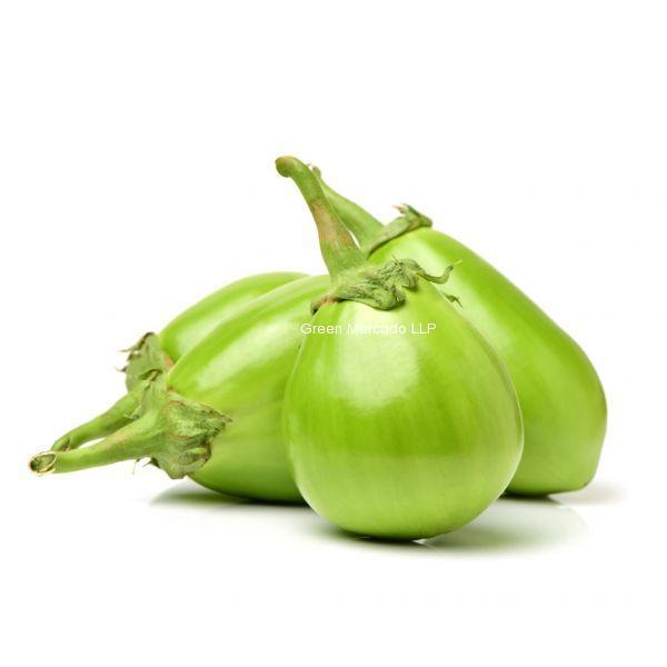 Green Brinjal (લીલા રીંગણા)