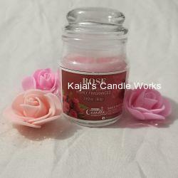 Rose Scented Candles 80gm
