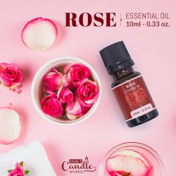 Rose Essential Oil 10ml (0.33oz.)