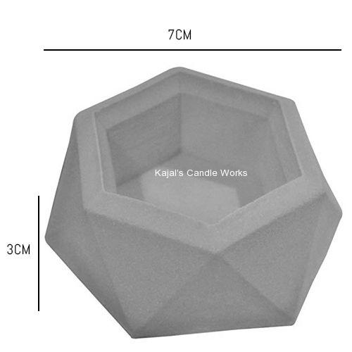 Diamond Shaped Surface Plant Flower Pot