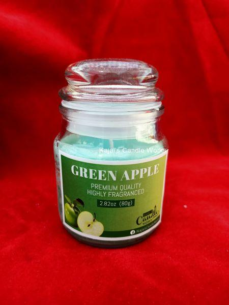 Green Apple Scented Candles 80gm