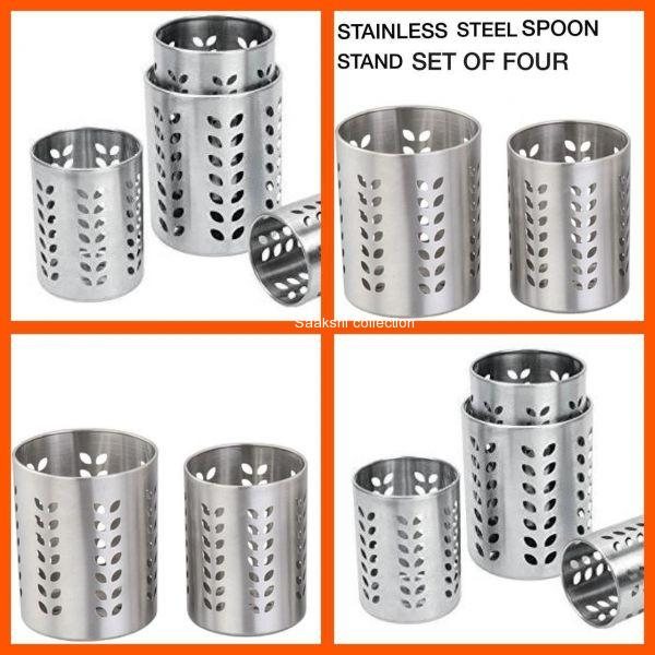 Set of four multipurpose stand