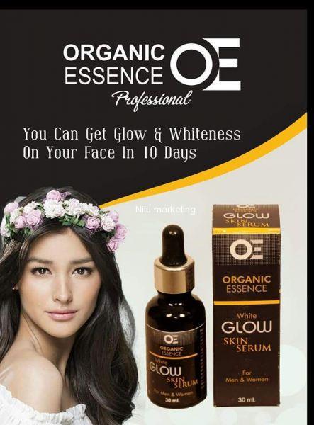 Skin glow serum