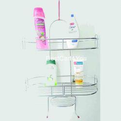 Vaishvi 5in1 Stainless Steel Big Size Multipurpose Bathroom Shelf/Kitchen Shelf/Holder/Bathroom Accessories for Home - Large