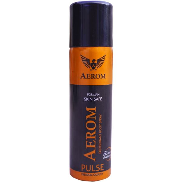 Aerom Ruby and Pulse Deodorant Body Spray For Men and Women, 300 ml (P